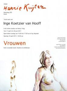 poster flyer exhibition expositie Harry Kuijten Groet