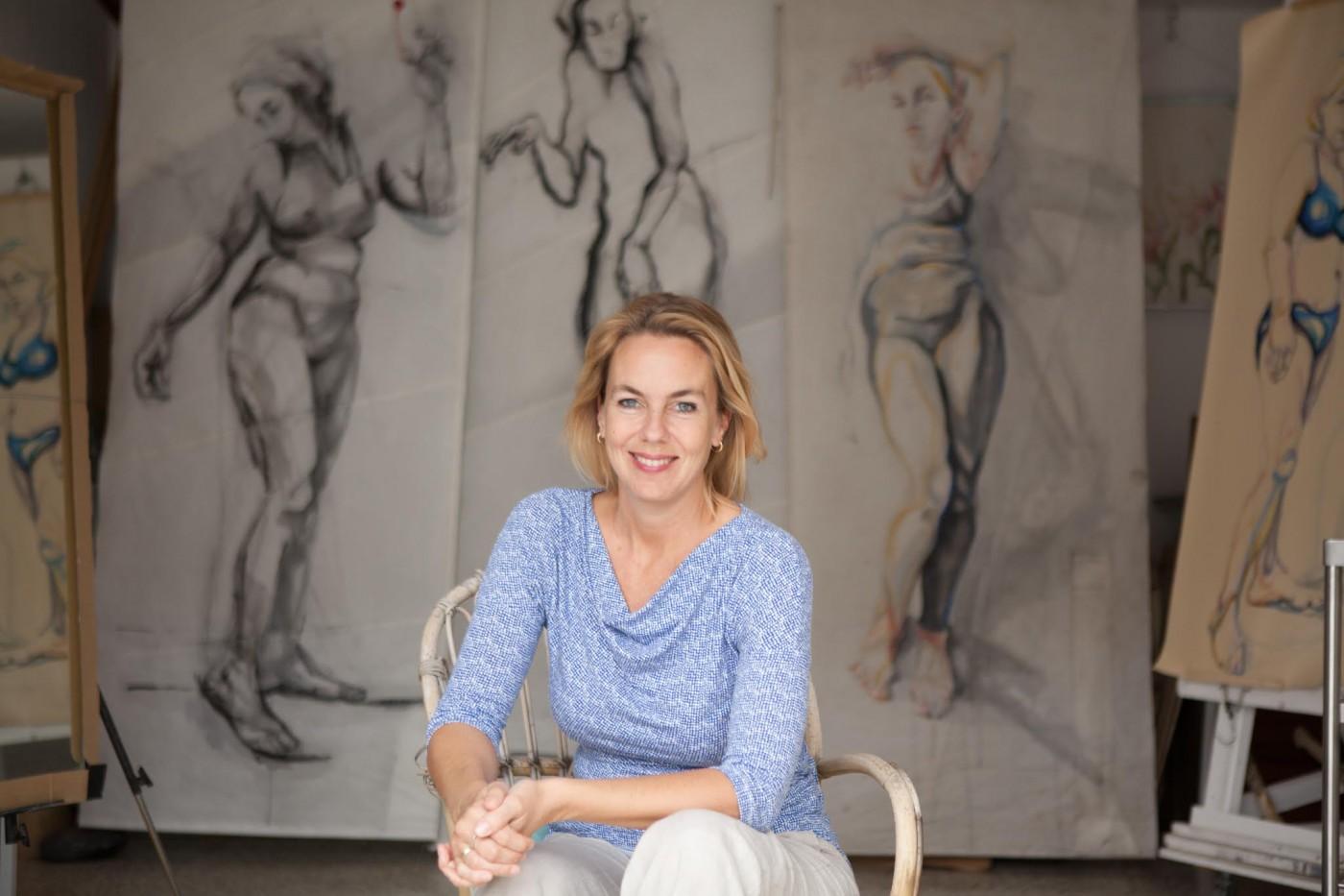 Portrait Inge Koetzier van Hooff