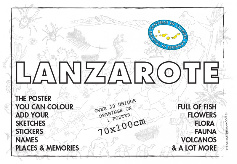 Lanzorote poster 2nd edition