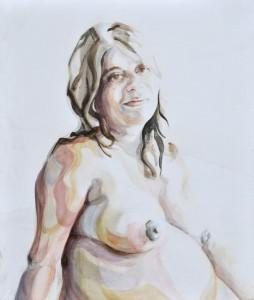 M. | Acrylic on wooden panel | 70x80 cm