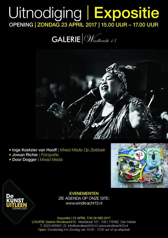 Uitnodiging expositie den Helder