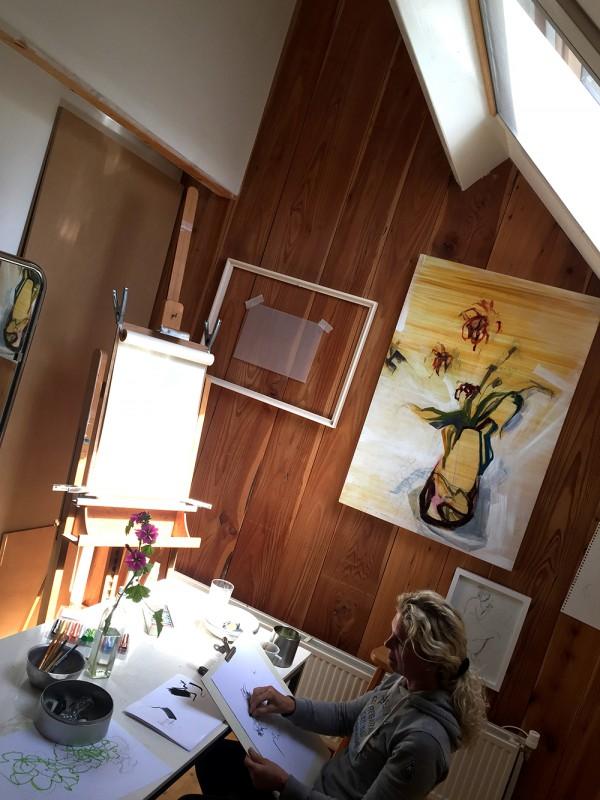 Studio Atelier Schoorl NL - tekenles - artclass