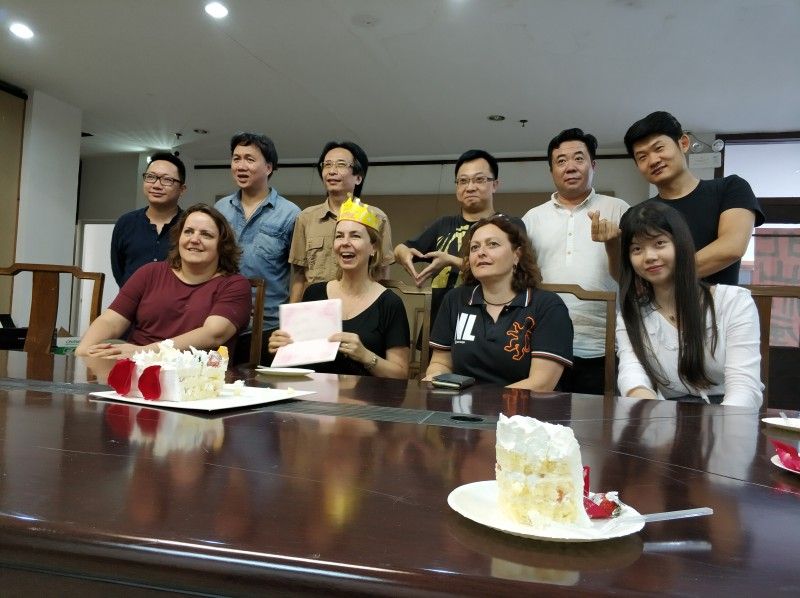 Birthday in China 1 may 2018!