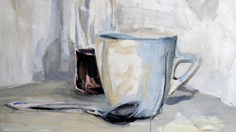 Detail Still life painting | for sale