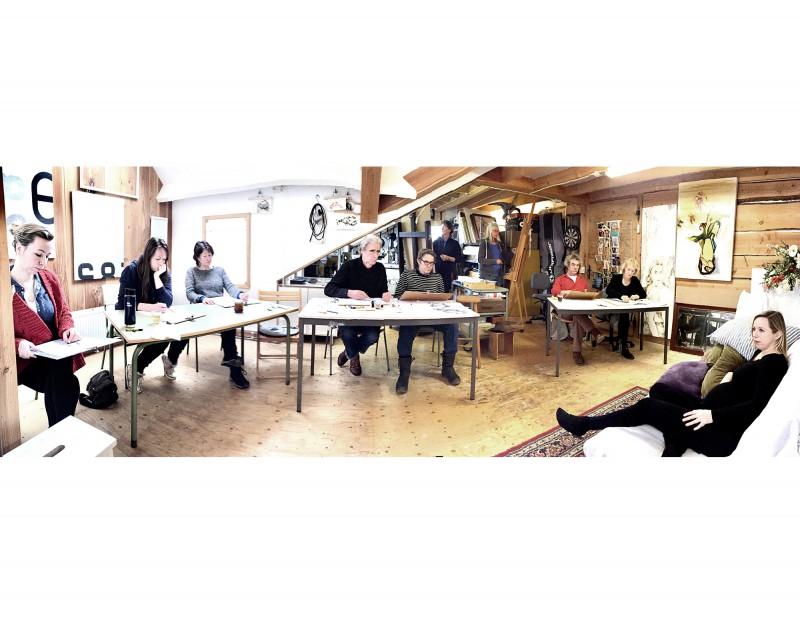 Modeltekenen atelier Schoorl