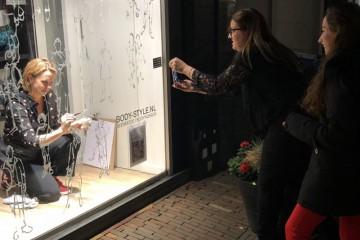 Event Window Painting | Raam Schilderen | Inge Koetzier van Hooff