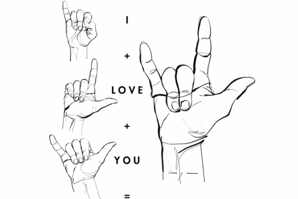 Love Amor Liefde Sign Language Hands