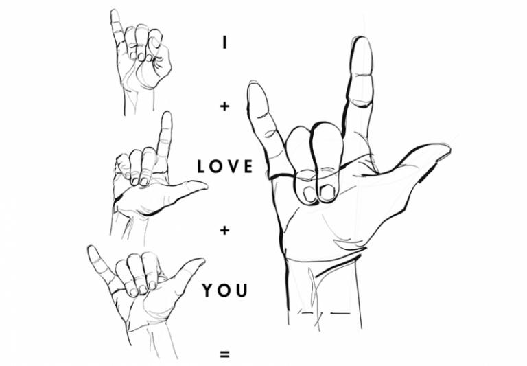 Love Amor Liefde Sign Language Hands