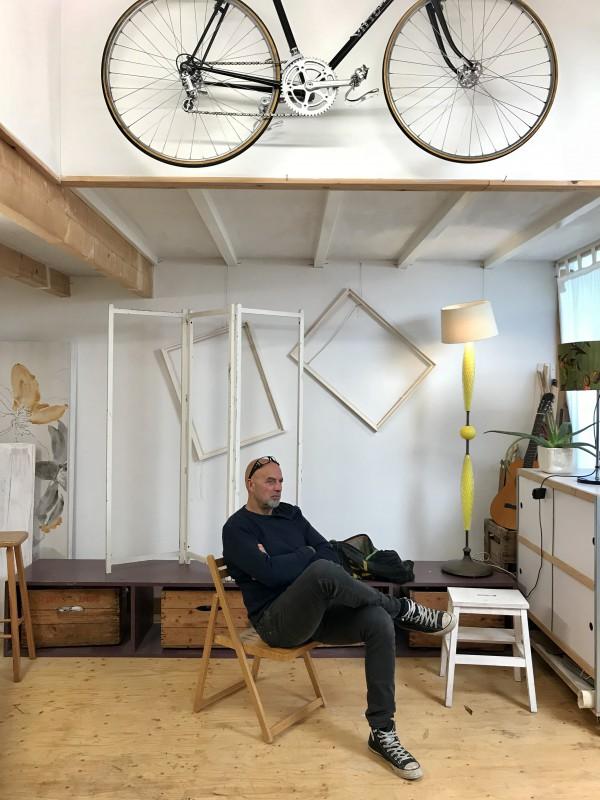 Ron Moret artist model kunstenaar