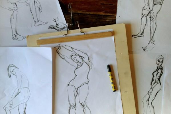 Modeltekenen Modeldrawing Sketches