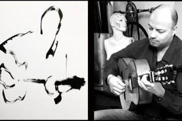 Flamenco music drawing