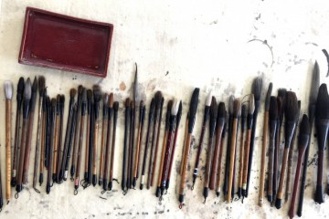 Ink brushes Art Gallery Foshan Guangzhou China