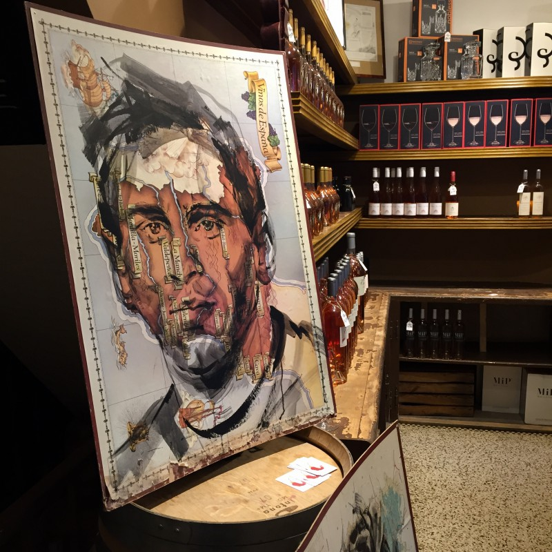 Wine & Art & a touch of football| Lionel Messi