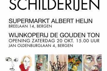 flyer expositie kunst10daagse 2018