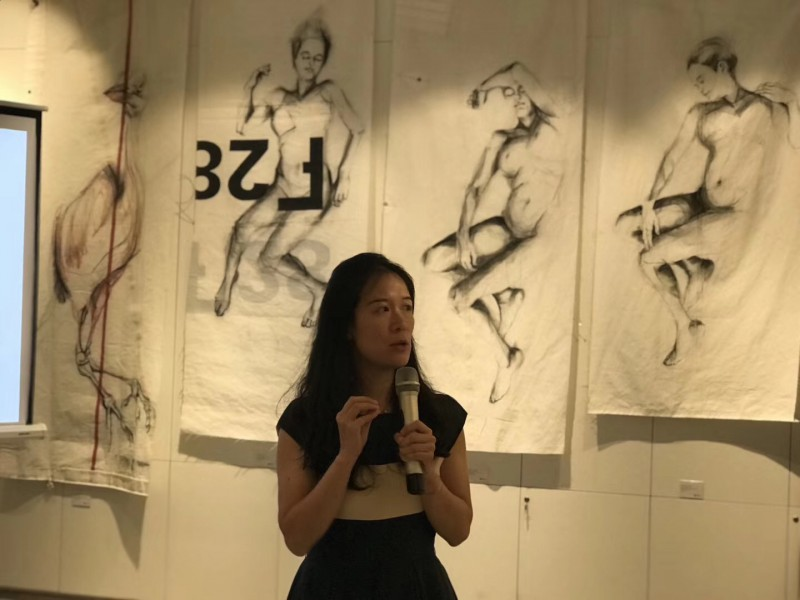 Rebecca Yang at Guangzhou Gallery China Koetzier van Hooff