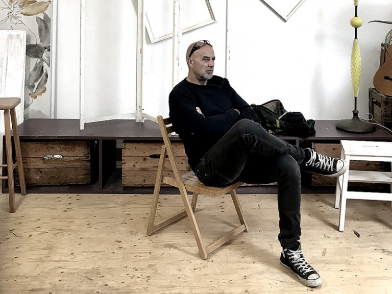 Ron Moret kunstenaar model