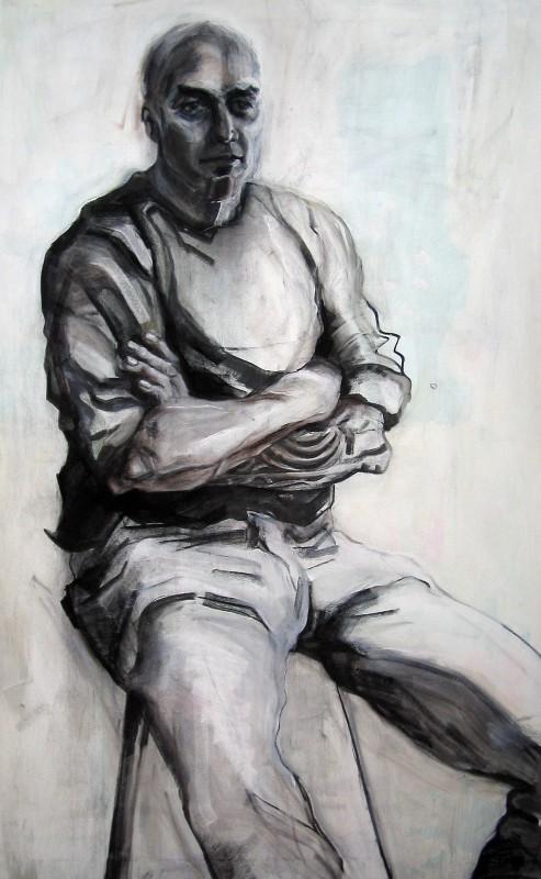 2006 Ron Moret kunstenaar model