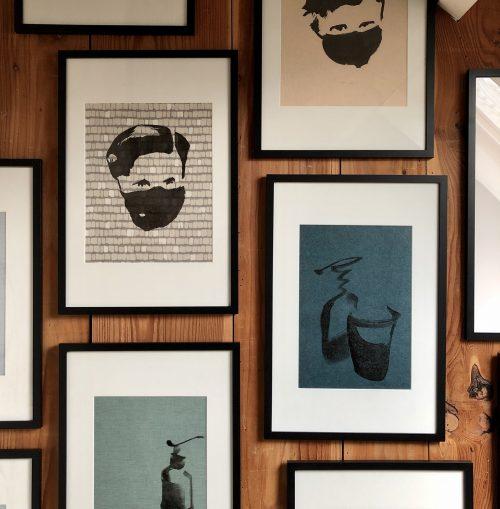 Wallpaper Series in Studio