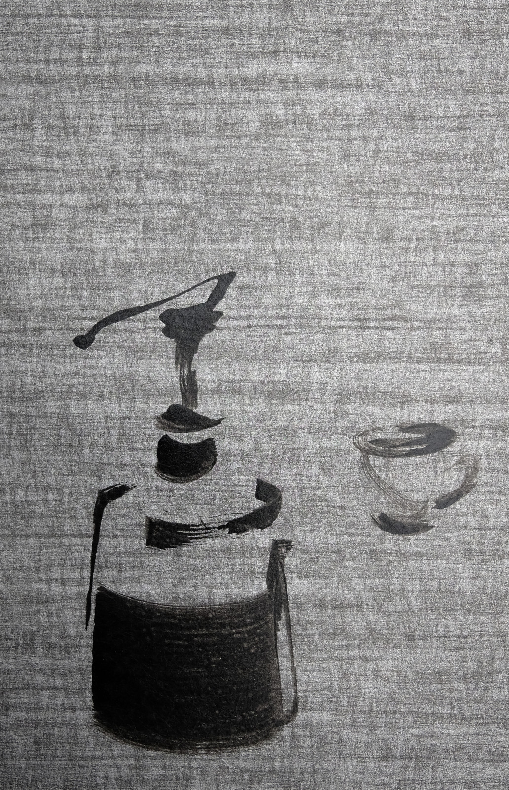 Koetzier van Hooff   Wallpaper Series   Still Life on raw Grey