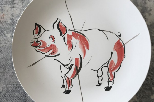 2019 Year of the Pig | ceramic