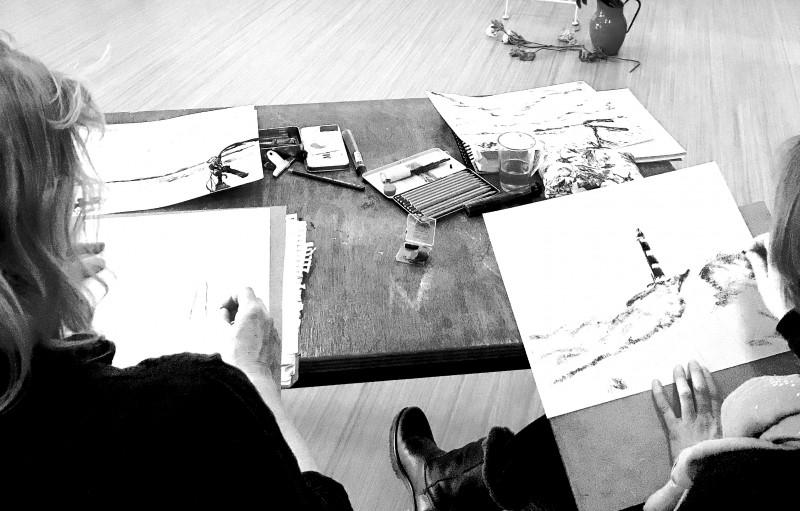 Tekenles Inge Koetzier van Hooff | Creativity is the new gold