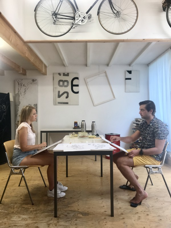 workshop for 2 | portrait drawing