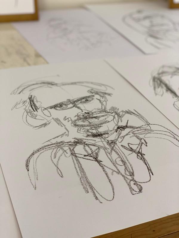 workshop for 2   sketches   portrait drawing