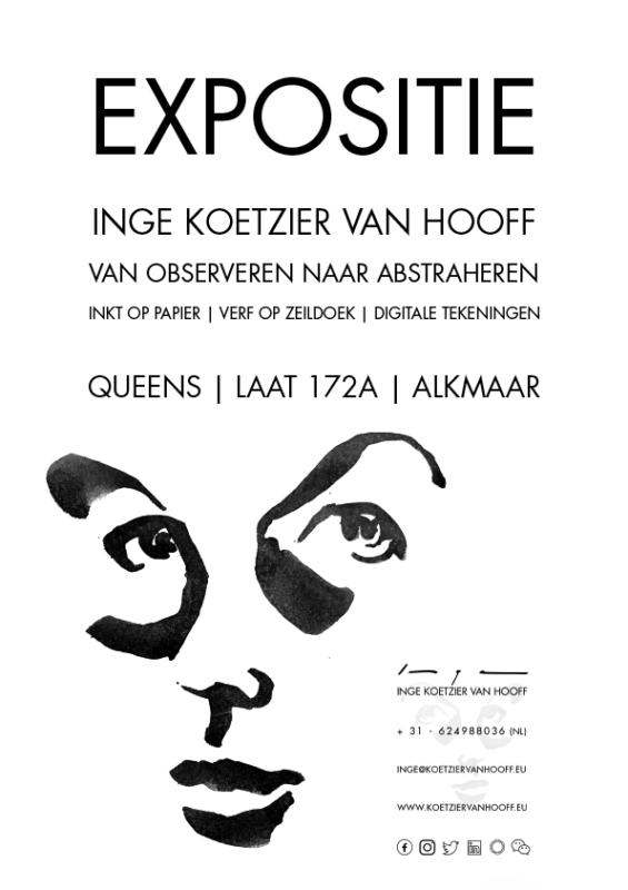 Queens exhibition 2020 poster flyer