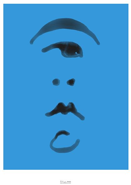 Portrait written like characters