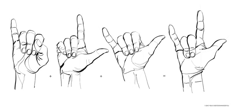 I Love You   hand sign