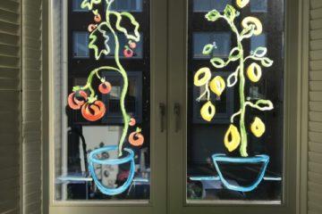 Window Painting | #paintyourownview | Raam Schilderen