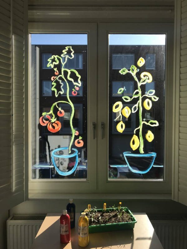 Window Painting | #paintyourownview | Raam Schilderen