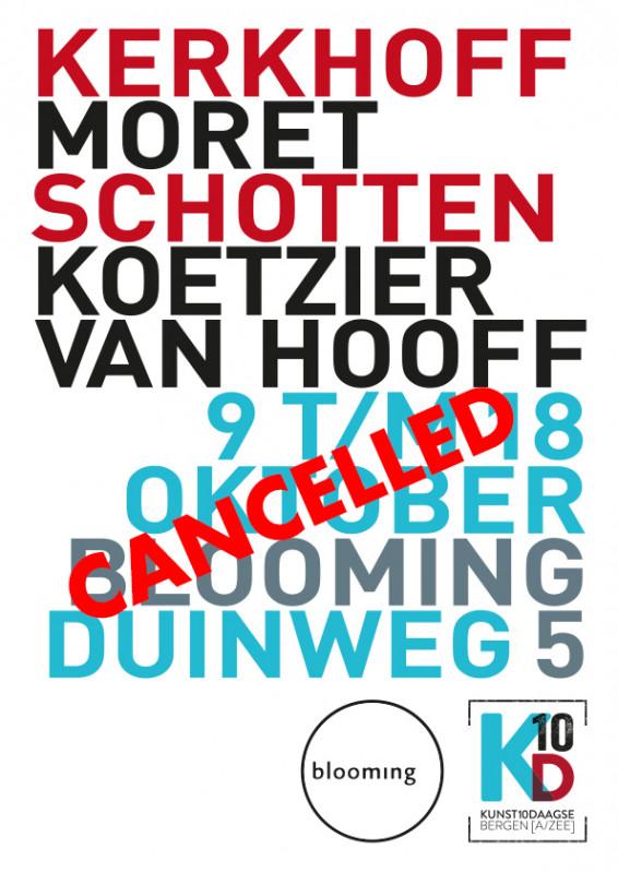 Kunst10daagse gecancelled