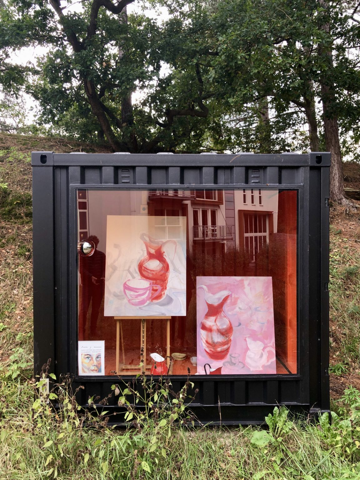 Kunst container Blooming