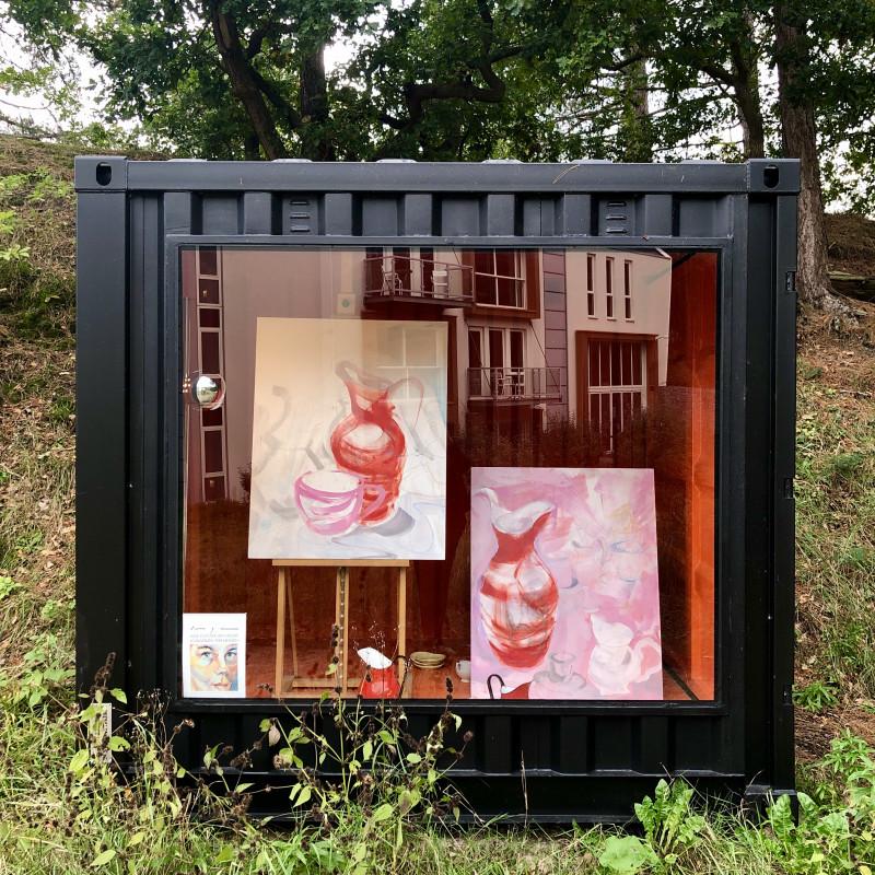 Art Kunst Container Blooming Hotel Bergen nh