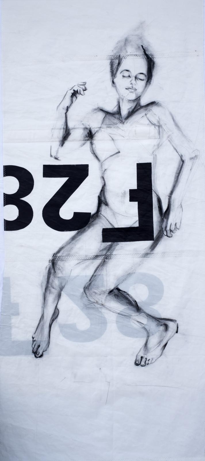 Reclining Woman 2 | Original Artwork | Koetzier van Hooff