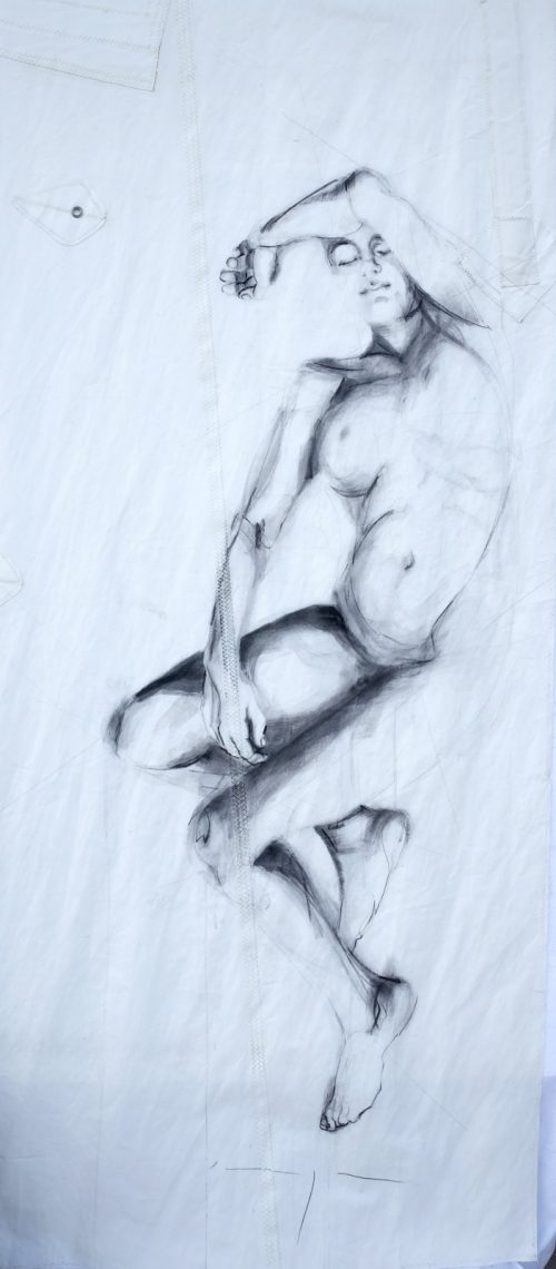 Reclining Woman 3 | Original Artwork | Koetzier van Hooff