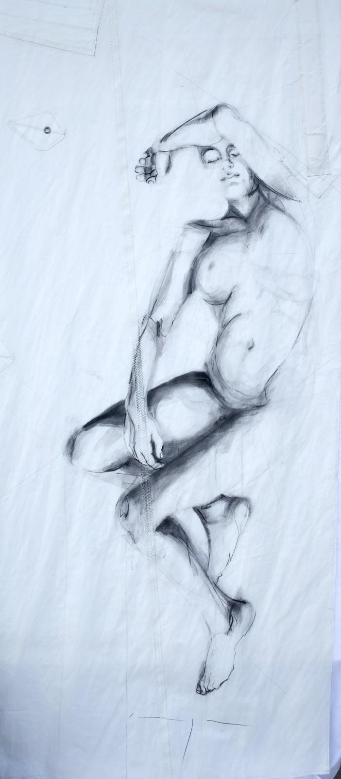 Reclining Woman 3 | Original Artwork | Koetzier van Hooff