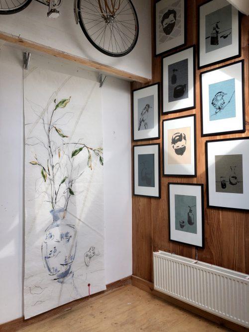 Artwork in Studio Schoorl