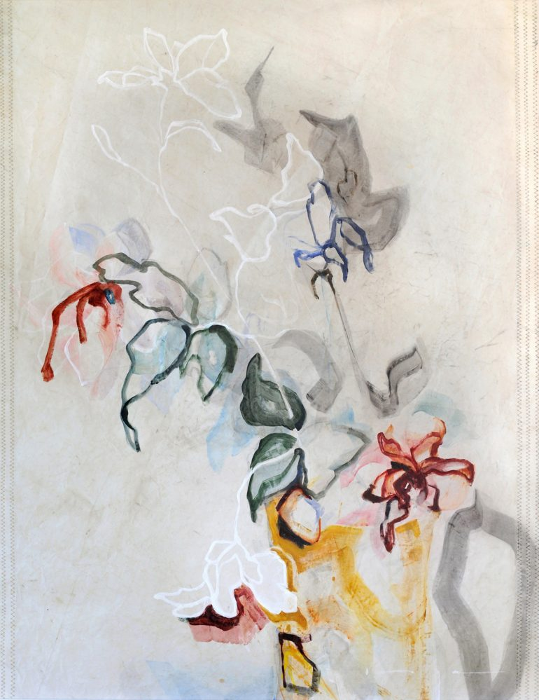 Flowers in Vase on Sail