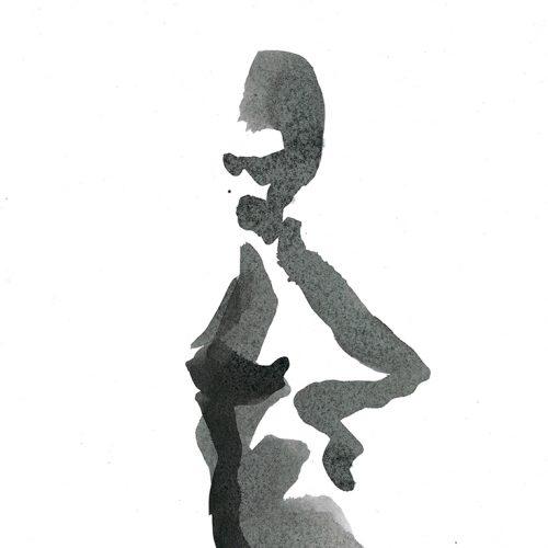 Woman Posing   Detail