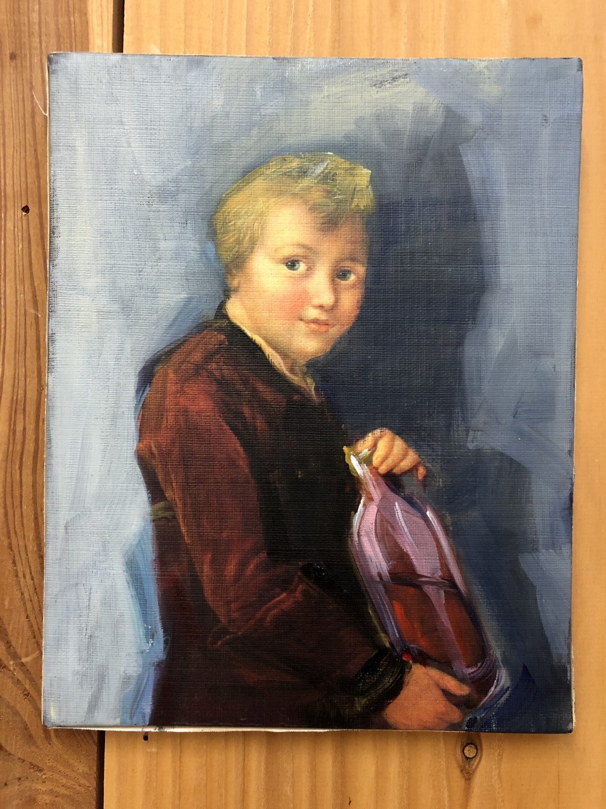 Boy with Bottle