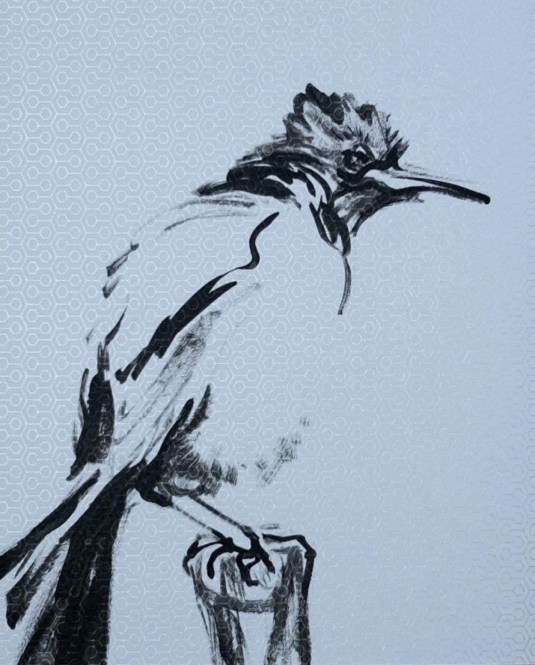 Moody Bird | Wallpaper Series