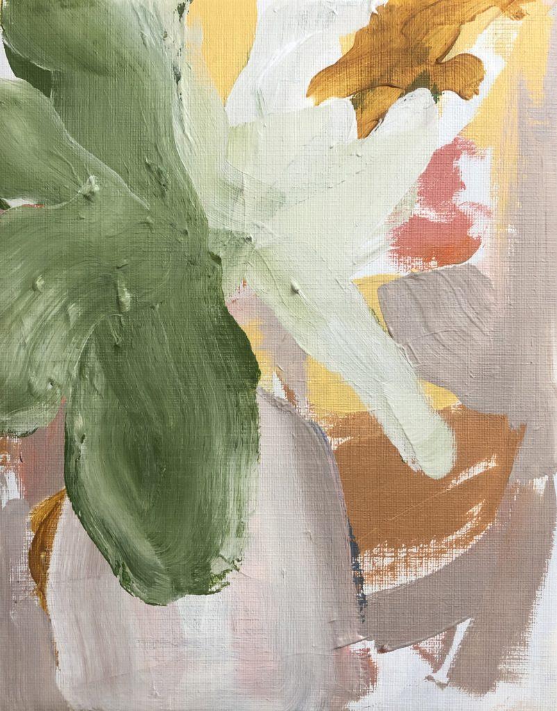 Soft Pastel Flowers | original artwork