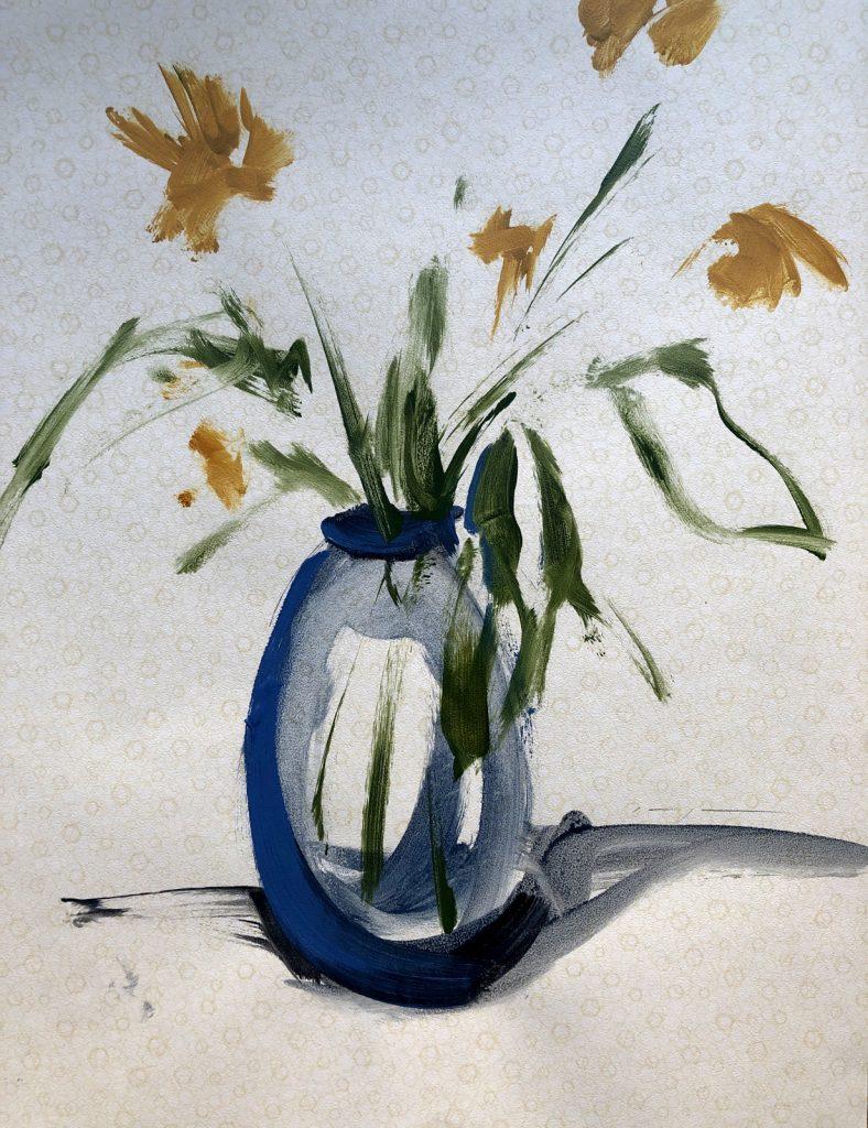 Painting Summer Flowers | Wallpaper