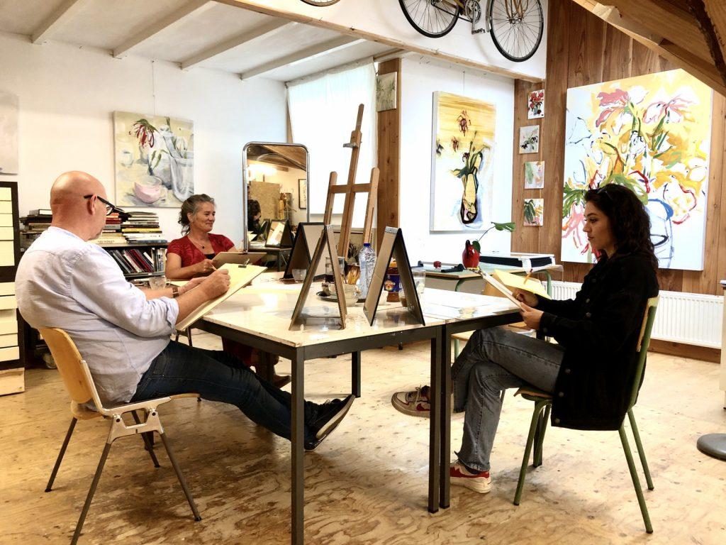 Workshop Portret Tekenen Schilderen
