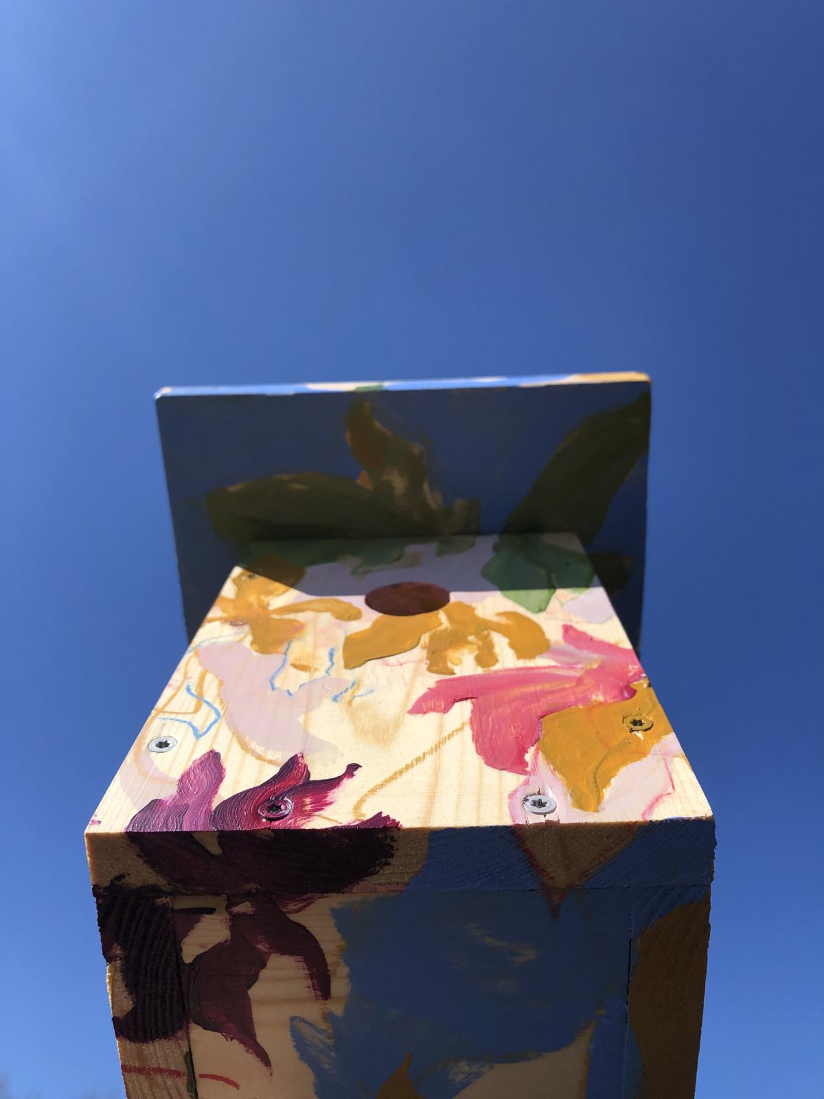 Art Birdhouse | Kunst Vogelhuisje Route Schoorl